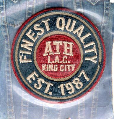 Patch Ecusson Thermocollant FINEST QUALITY  Pos 80