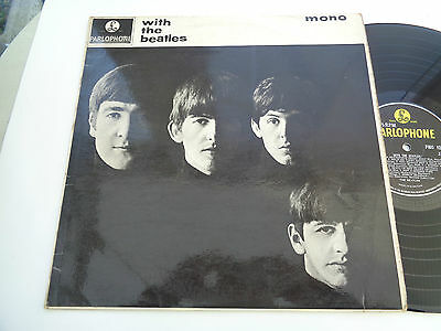 the  beatles  ( with the beatles ) album  on  parlophone  records 1963 rare