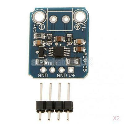 2x Thermal K-Type Thermocouple Amplifier Analog Output Module for Arduino