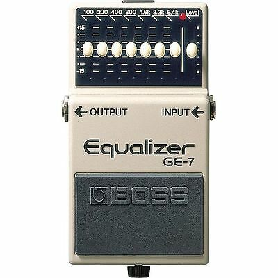 Boss GE7 Graphic Equalizer Pedal For Guitar
