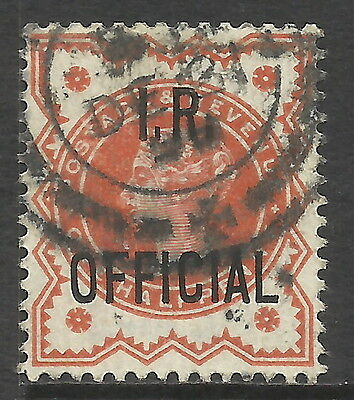 GB STAMPS OFFICIALS QUEEN VICTORIA INLAND REVENUE FROM BOBBLES BASEMENT @ 60p