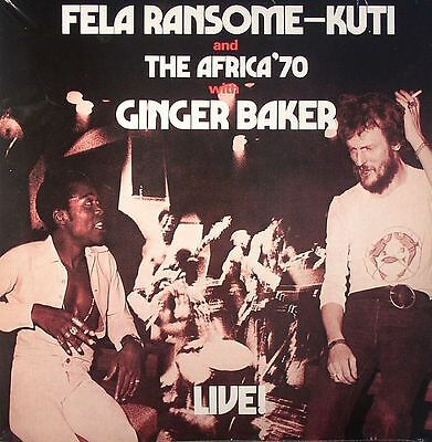 KUTI, Fela Ransome & THE AFRICA 70 - Fela With Ginger Baker Live! - Vinyl (LP)