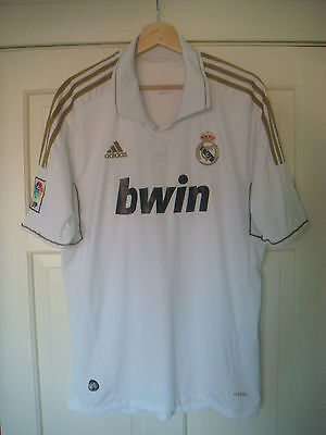 Classic Real Madrid Home Shirt XL 2011