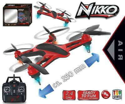 Happy People NIKKO Quadrocopter Drohne Air Racer LED Licht 36942
