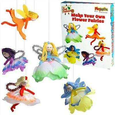 Make Your Own Flower Fairies Craft Kit Makes 5 New Craft Toy