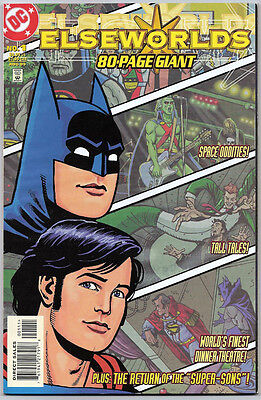 Elseworlds 80 Page Giant #1 Recalled (1999) Near Mint White Pages Unread