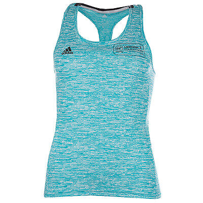 Womens adidas Womens Supernova Fitted Tank in aqua - 4-6 From Get The Label