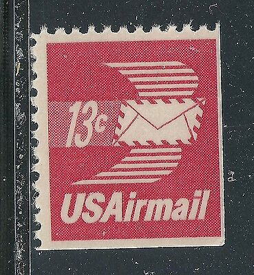 C79a***13c WINGED ENVELOPE ***MNH US BOOKLET SINGLE****AIRMAIL***