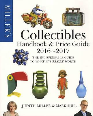 2017 Collectibles Handbook & Price Guide by Miller 4,000 Photos 432pgs w Trends