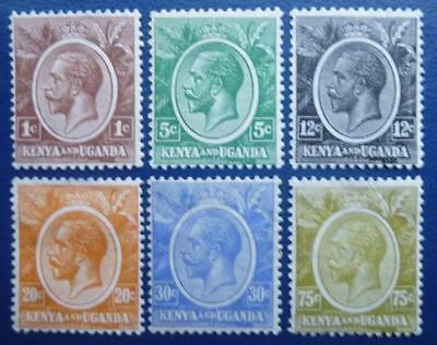 x 6. diff KGV. stamps - mint.