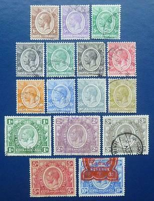 x 16. diff KGV. stamps - used.