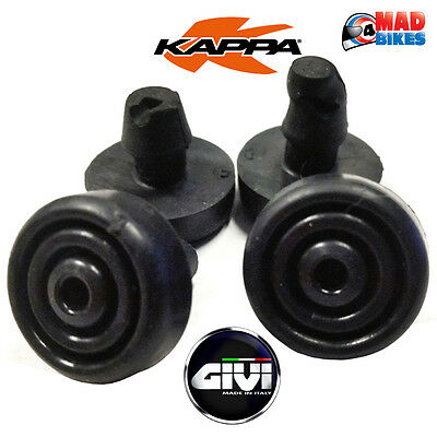 Givi or Kappa Z2710 Rubber Bungs / Spacers for SRA / KRA Aluminium Racks & E251