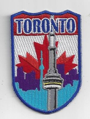 City Of Toronto, Ontario Canada Souvenir Patch