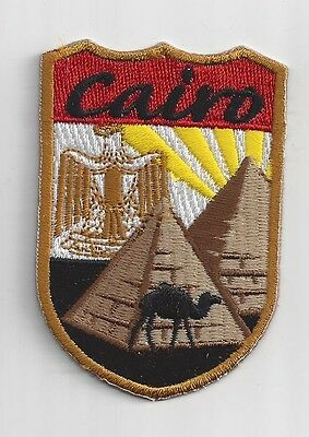Cairo, Egypt Souvenir Patch
