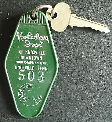 Vintage Holiday Inn Room Key & Fob, Downtown Knoxville Tennessee, Room  #503
