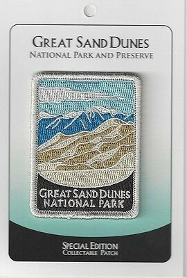 Great Sand Dunes National Park & Preserve Souvenir Patch- Special Ed Traveler