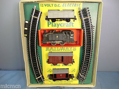 "PLAYCRAFT JOUEF MODEL ""HO"" No.P1305 ""CLAPHAM"" GOODS TRAIN SET 1st EDITION VN MIB"
