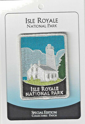 Isle Royale National Park Souvenir Patch  - Special Edition Traveler Series