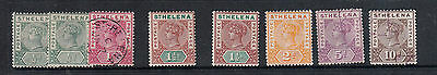 St Helena 1890-1897 Set  Mint/used/cto To 10D