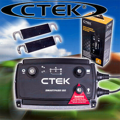 Ctek Dc To Dc Dual Battery Charger Power Management Addition Smartpass 120 12V