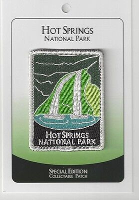 Hot Springs National Park Souvenir Patch - Special Edition Traveler Series