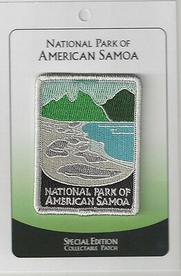 National Park Of American Samoa Souvenir Patch -Special Edition Traveler Series