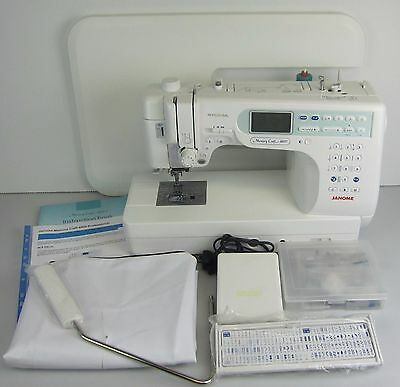 Janome Memory Craft 6600 Professional Sewing Quilting Applique Machine