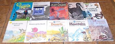 30 Nature Weather Earth LOT OF Children's non fiction books