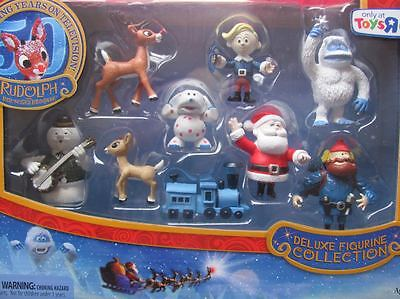 DELUXE FIGURINE COLLECTION rudolph misfit toys figure NEW