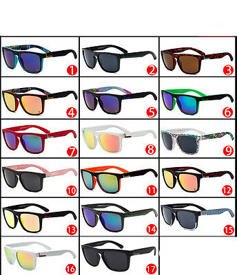 Outdoor Cycling Men Women Fashion Unisex Retro Sports Sunglasses+Case Holiday