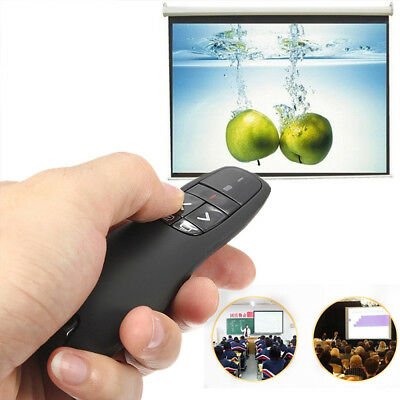 Wireless Mouse Presenter w/Laser Pointer USB Remote Control For PPT Laptop RRP