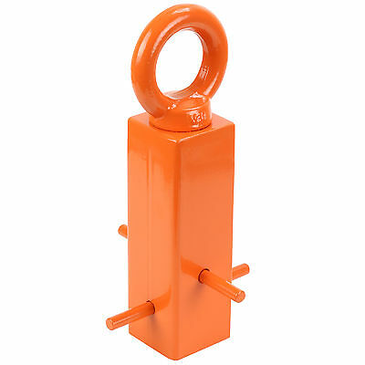 Ryde Orange Ground Anchor Cement In Lock Bike/Scooter/Motorcycle Security Chain