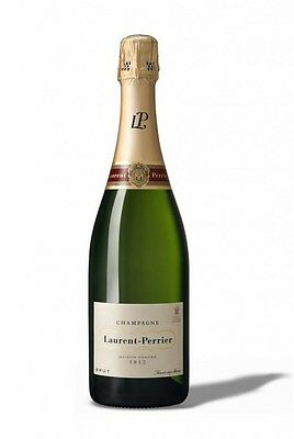 Laurent-Perrier Brut NV  (6 x 750mL Giftboxed), Champagne, France.