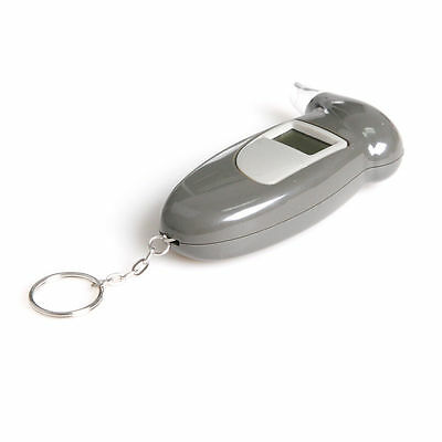 Digital Lcd Display Breathalyser Breath Alcohol Analyzer Detector Tester Keyring