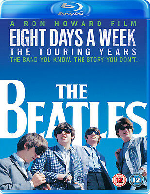 The Beatles: Eight Days a Week - The Touring Years Bluray NEW