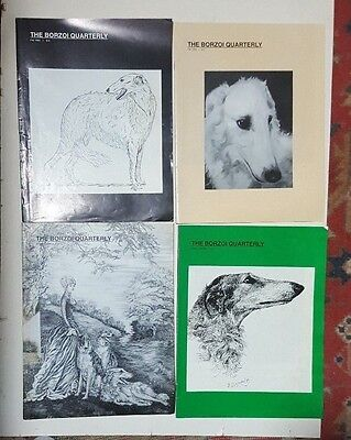 BORZOI QUARTERLY-Four Issues-1994-1996
