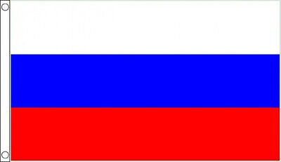 RUSSIA FLAG 5' x 3' DELUXE NYLON Russian USSR Flags