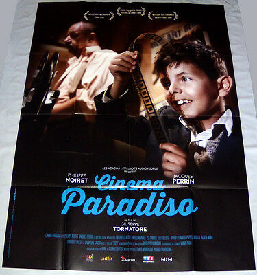 CiNEMA PARADiSO Giuseppe Tornatore Philippe Noiret movies LARGE French POSTER