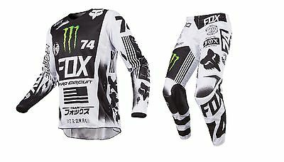 New 2017 Fox Racing 180 Special Edition Monster Pro Circuit Gear Combo All Sizes