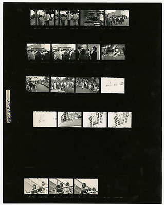 Paul McCartney 1991 Southend On Sea Concert Contact Sheets UK