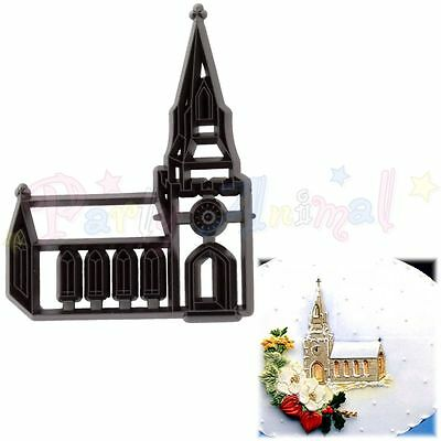 Sugarcraft Patchwork cutters- Church