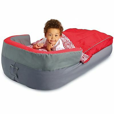 Deluxe My First Ready Bed Inflatable Sleeping Bag With Pump Readybed New