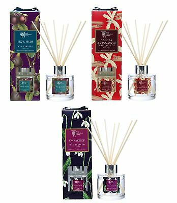 RHS Fragrant Garden Christmas 100ml Reed Diffuser Set Sold Individually