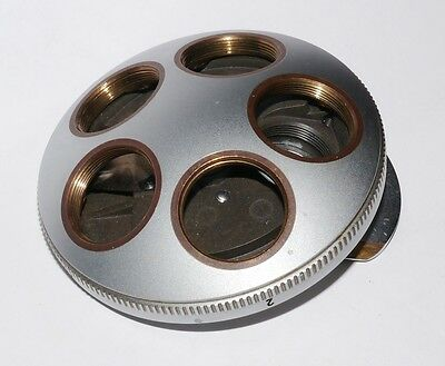 Ernst Leitz Microscope 5 Port Nosepiece (Objective Changer) for Dialux