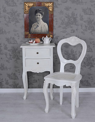 Chair Country Style Kitchen Chair White Antique Style