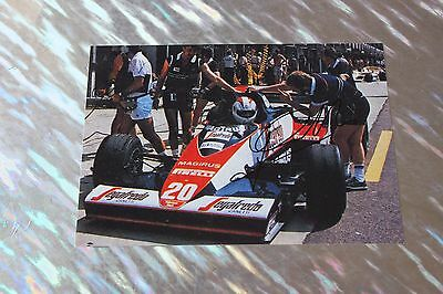 Johnny Cecotto (Formula One) Signed Photo