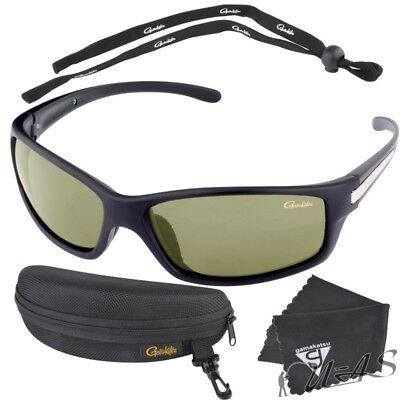 Spro Gamakatsu Polarisations Brille G-Glasses Cools Lemon Lime Sha
