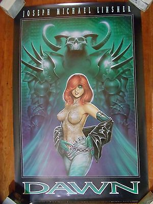 ~~ Hard To Find! ~ Linsner ~ Dawn  Poster #4 ~ Dawn In Green  ~~