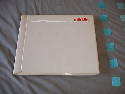 catalogue complet  MARKLIN fabrications 1990-91 HO & Z 164 pages