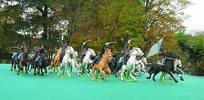 Britains Deetail USA Civil War Union Cavalry x 19 mounted - VG